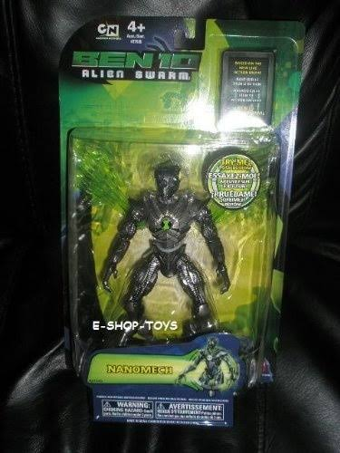 "Bandai Ben 10 Alien Swarm 15cm/6"" Nanomech Alien Action Figure"