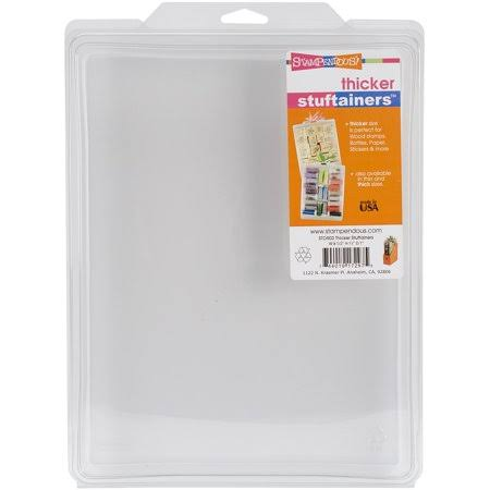 Stampendous Thicker Stuftainers - Clear