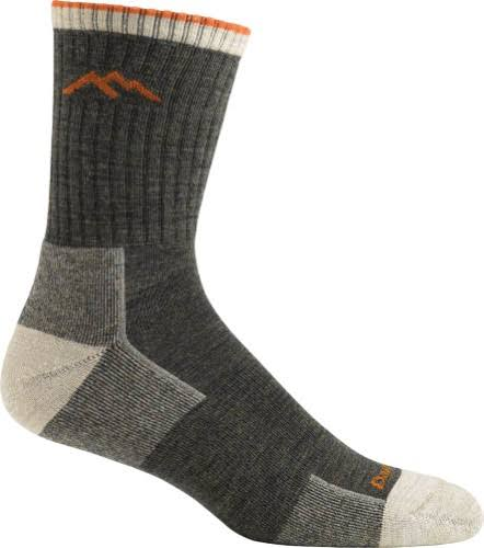 Darn Tough Men's Hiker Micro Crew Cushion Sock - Olive