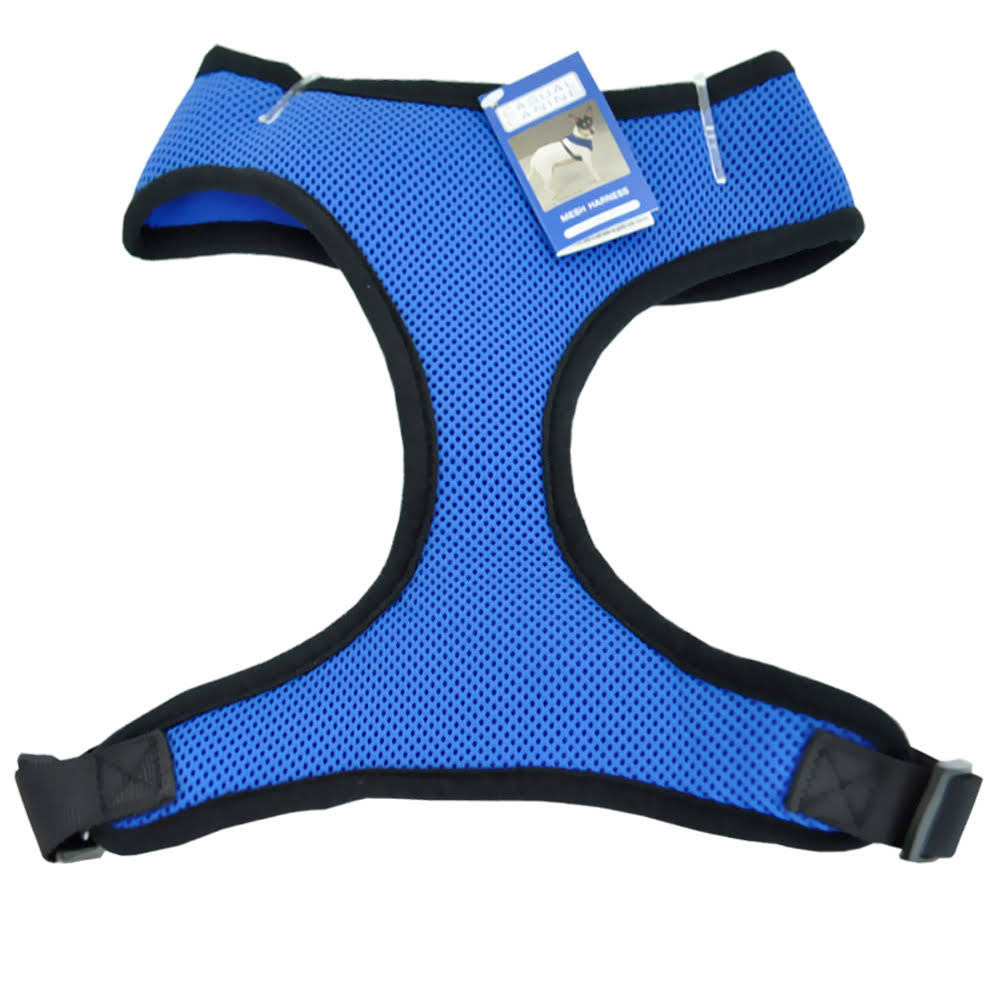 Casual Canine Mesh Dog Harness - Medium, Blue