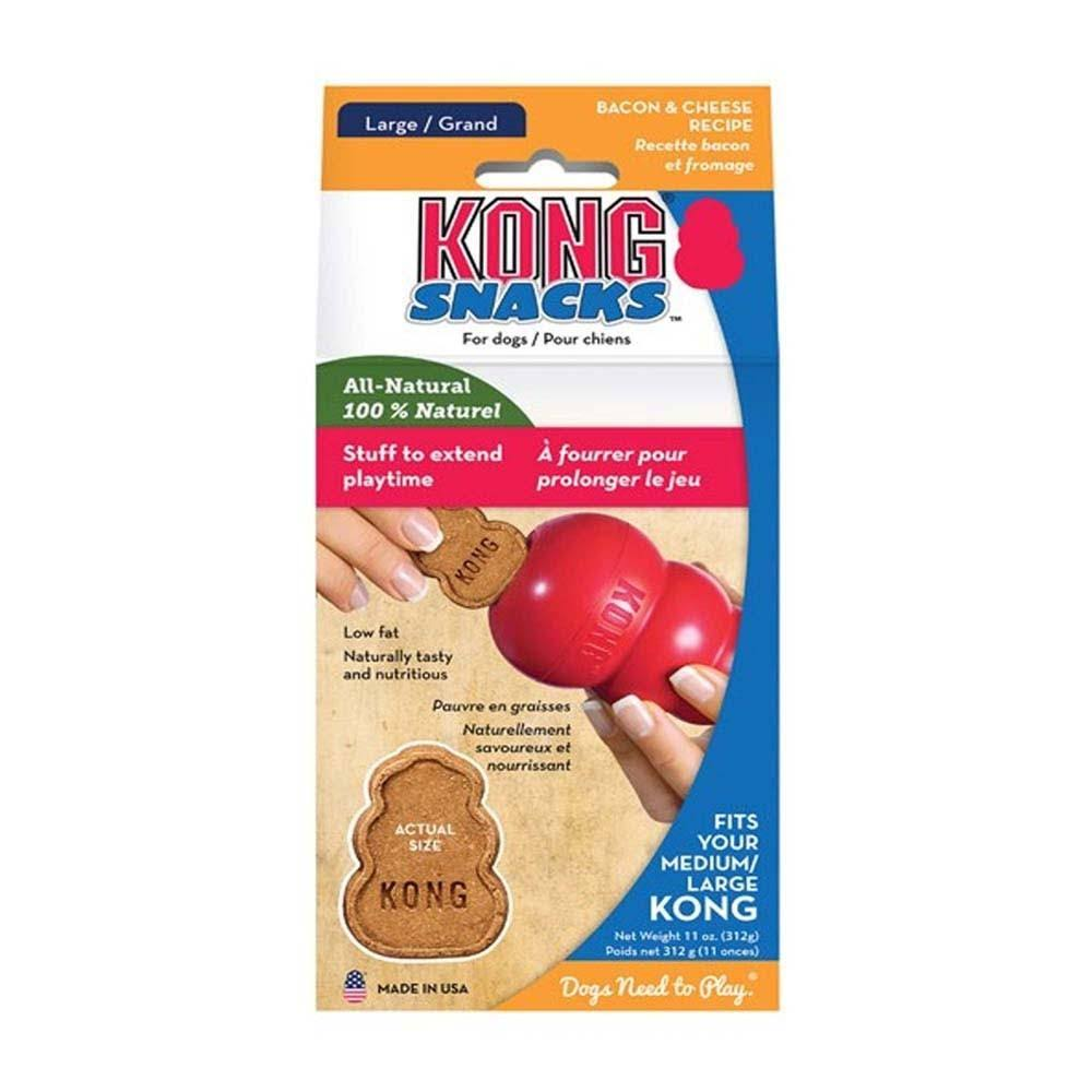 Kong Bacon and Cheese Snacks - Large, 13oz