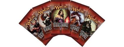 Magic The Gathering Innistrad Booster Pack - 15 Cards