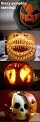 Evil Clown Pumpkin Stencils by Best 25 Scary Pumpkin Carving Ideas On Pinterest Pumpkin