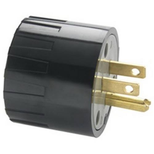 Pass & Seymour Travel Trailer Adapter - Black