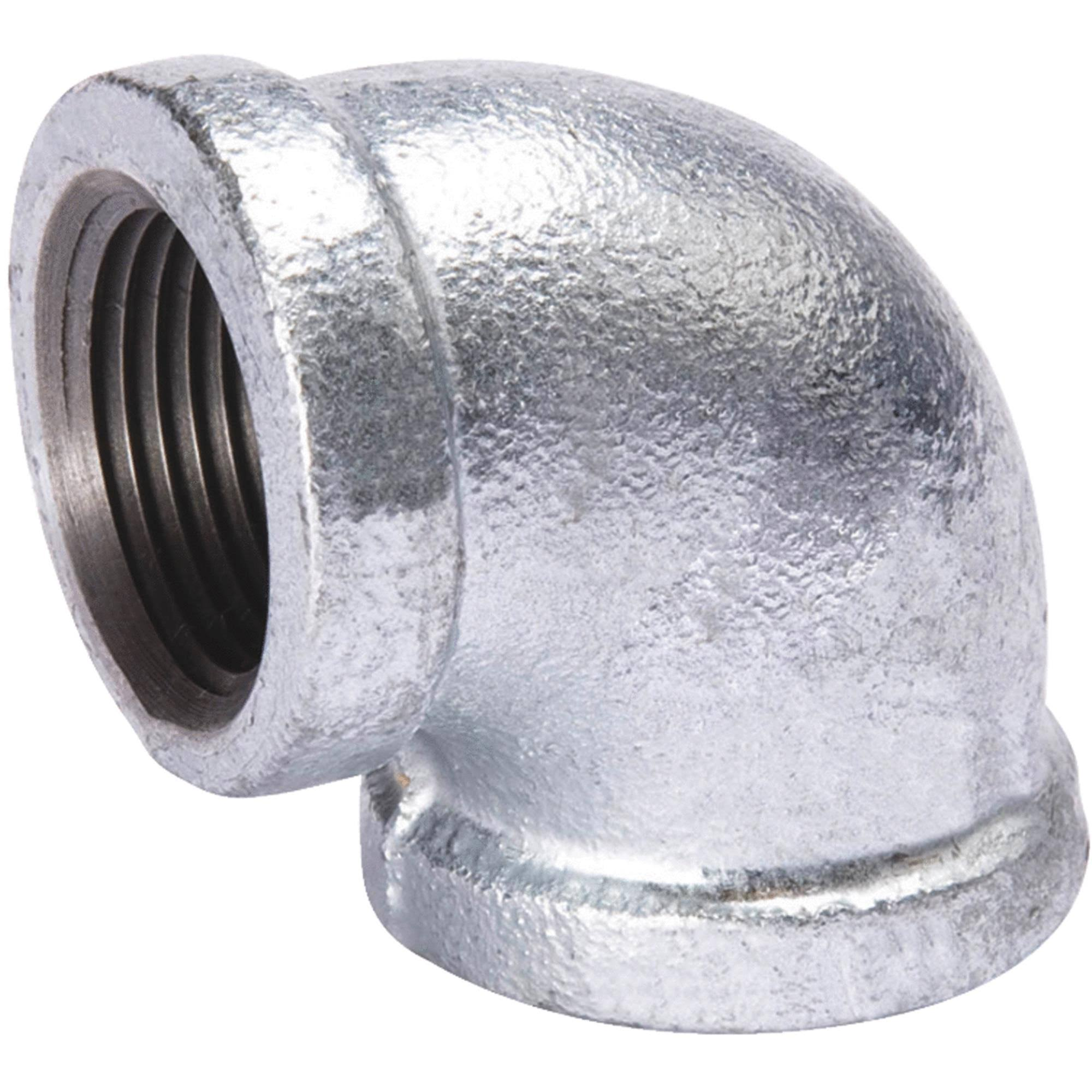 Southland 510 007hn Galvanized 90 Degree Elbow Fittings - 1 1/2""
