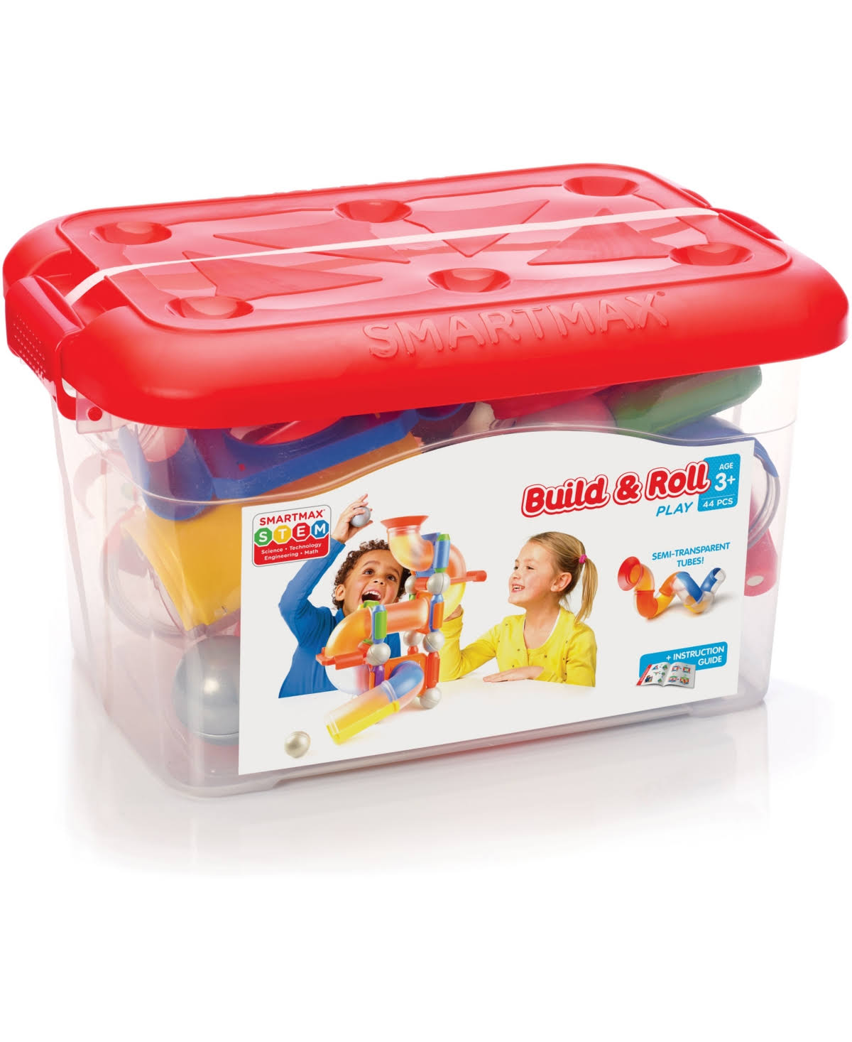 SmartMax Build & Roll, 44 Pieces