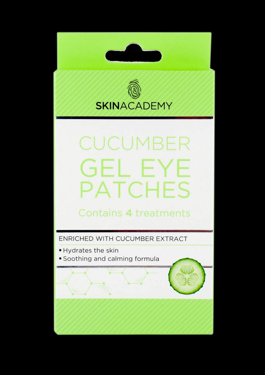 Skin Academy Cucumber Gel Eye Patches 4 Treatments