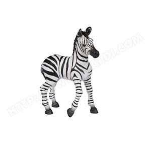 Papo Zebra Foal Animal Figurine