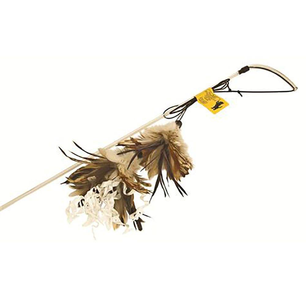 Purrfect Crunchy Feather Cat Toy