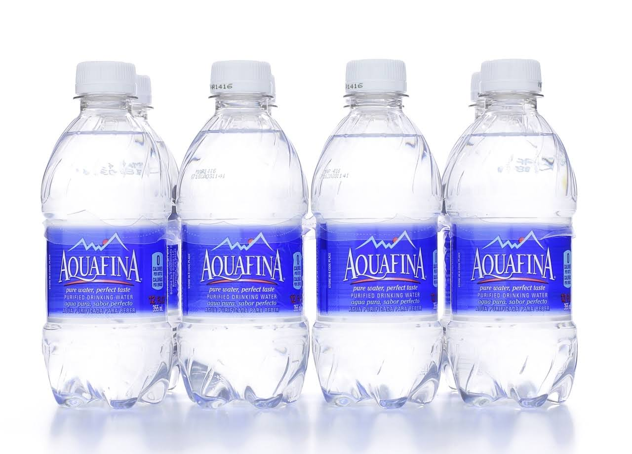 Aquafina Purified Drinking Water - 96oz, 8ct