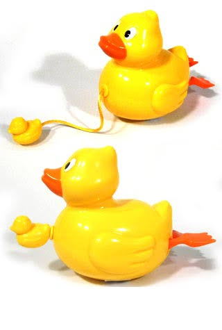 Toysmith - Duck Pull-String Bath Toy