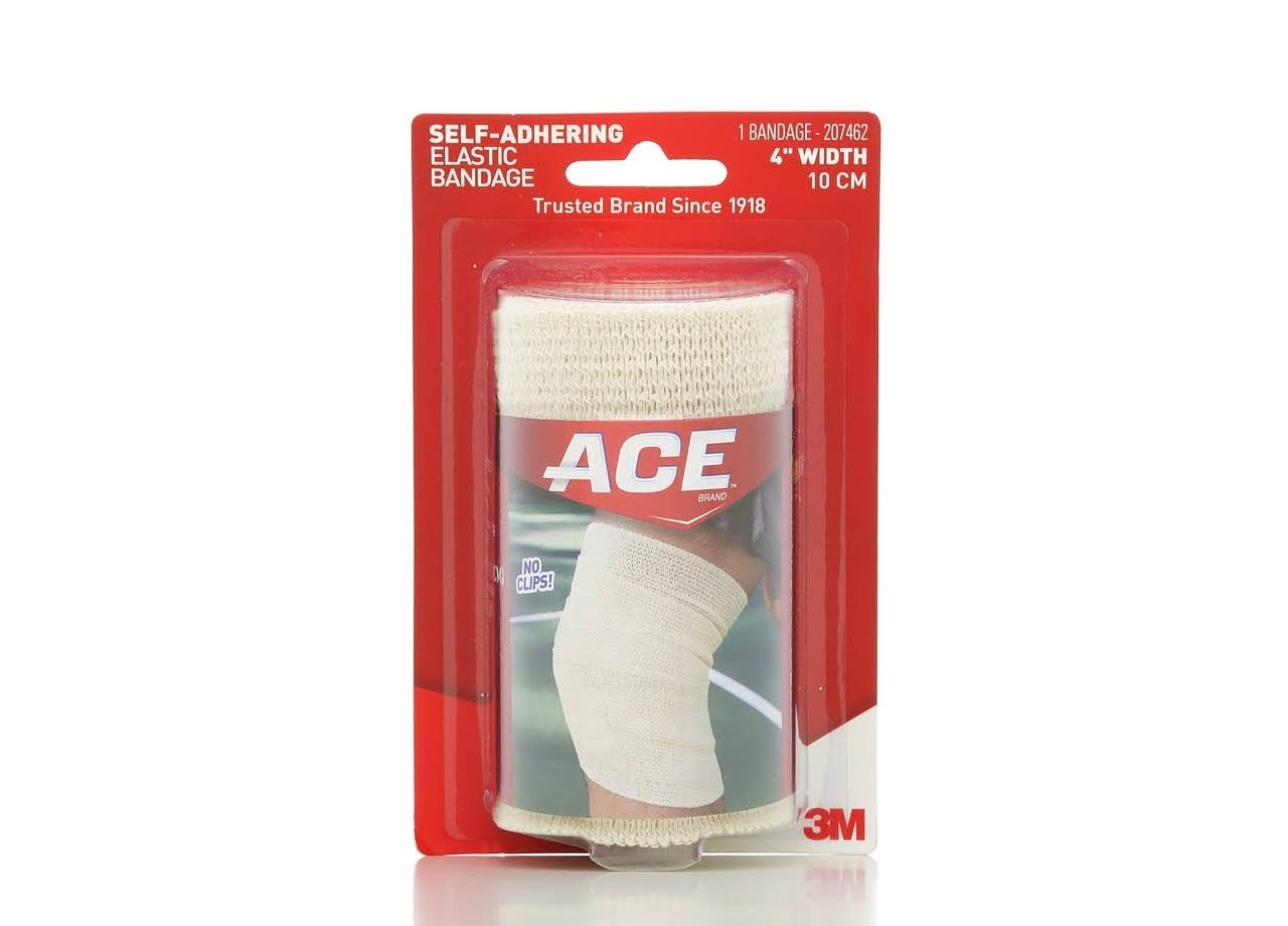 Ace Self Adhering Elastic Bandage - 4""