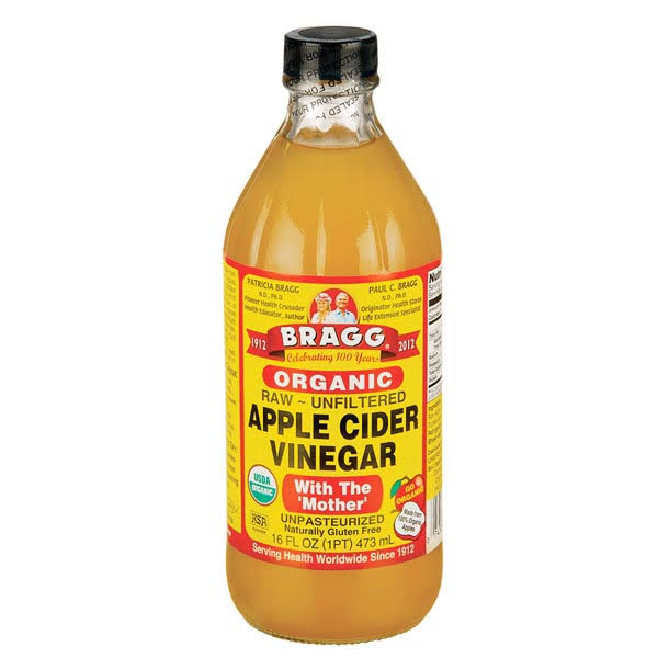 Braggs Organic Apple Cider Vinegar - with the Mother, 473ml