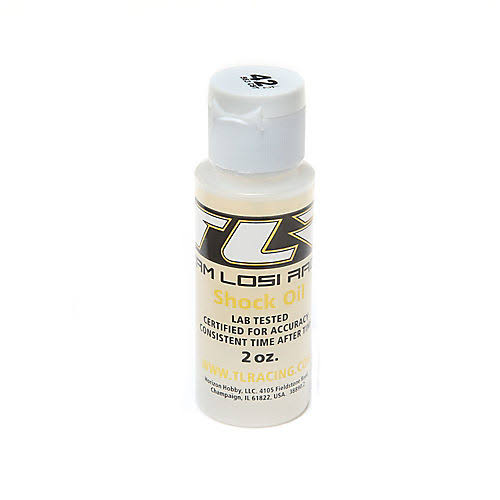 Team Losi Racing TLR74011 Silicone Shock Oil, 42.5wt, 2oz