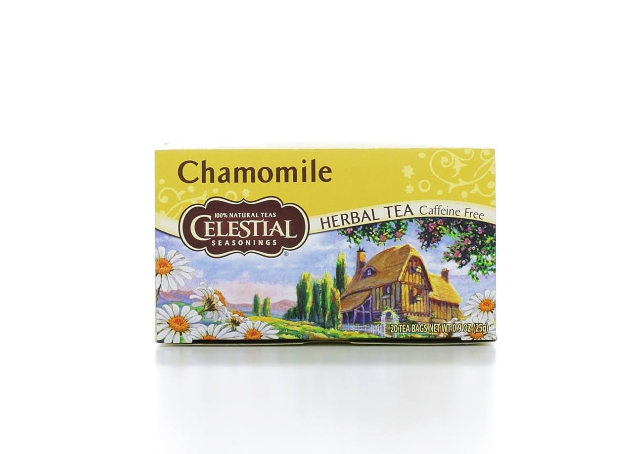 Celestial Seasonings Chamomile Herbal Tea Bags - 20 Bags