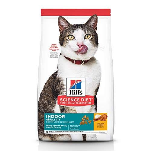 Hill's Science Diet Indoor Age Defying Chicken Recipe Premium Natural Cat Food Adult 11+ - 3.5lb