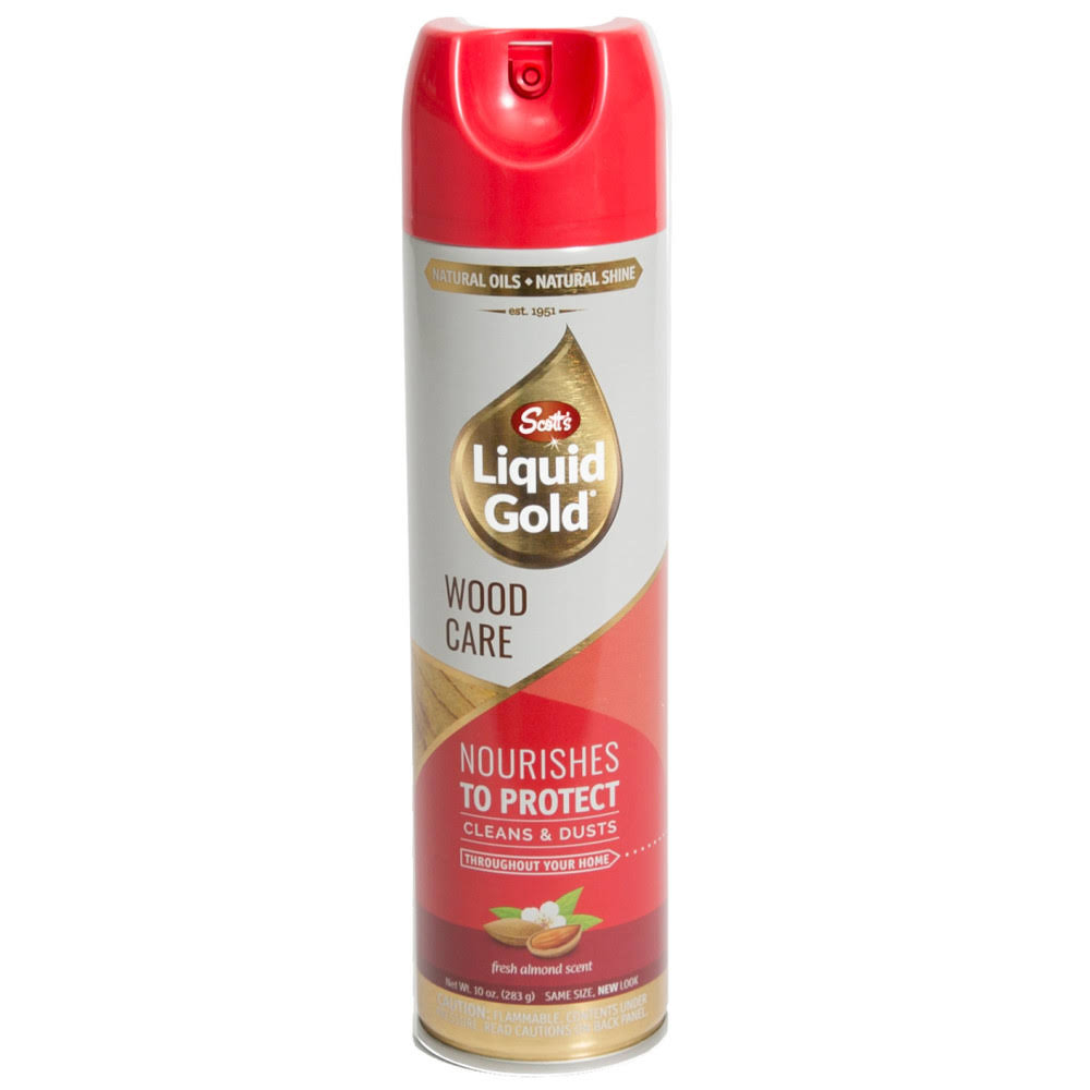 Scott's Liquid Gold Wood Cleaner and Preservative Aerosol - 10oz