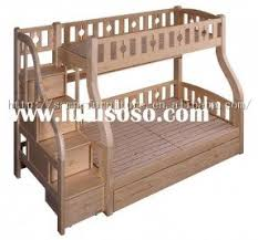 Wood Bunk Beds Plans by Bunk Bed Twin Over Full With Stairs Foter