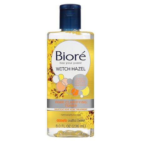 Biore Pore Clarifying Witch Hazel Toner - 8oz