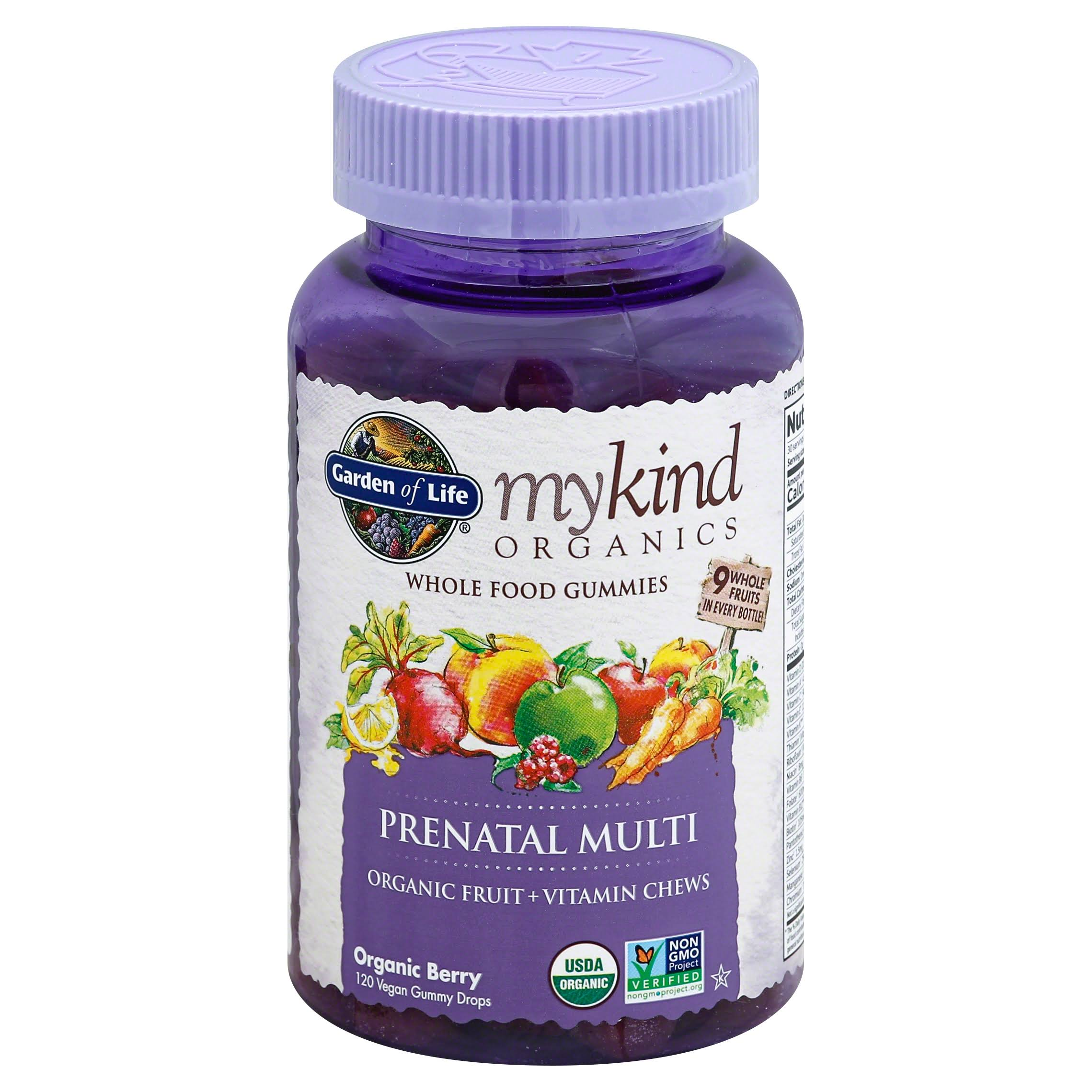 Garden of Life Prenatal Multi Vitamins - 120 Vegan Gummy Drops