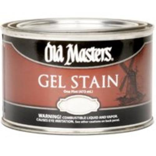 Old Masters 80108 Gel Stain - Natural, 1 pt