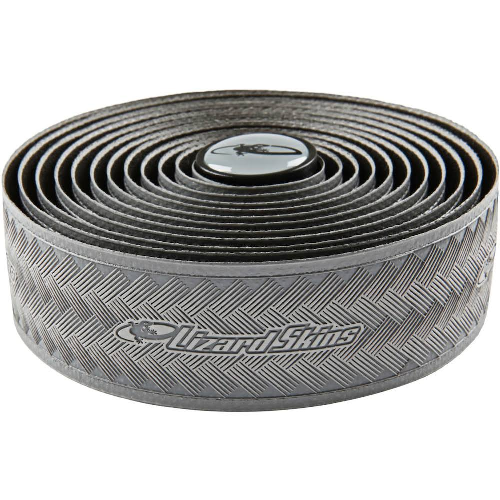 Lizard Skins DSP Durasoft Synthetic Road Bicycle Handlebar Tape - 3.2mm, Grey
