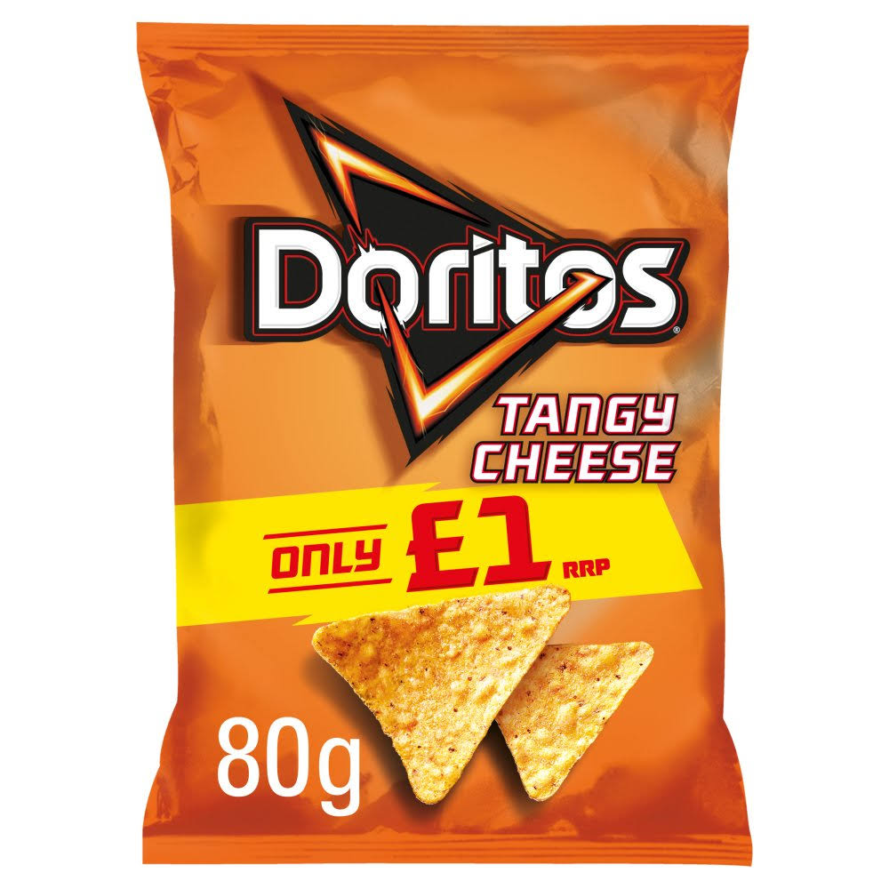 Doritos Tortilla Chips - Tangy Cheese, 80g