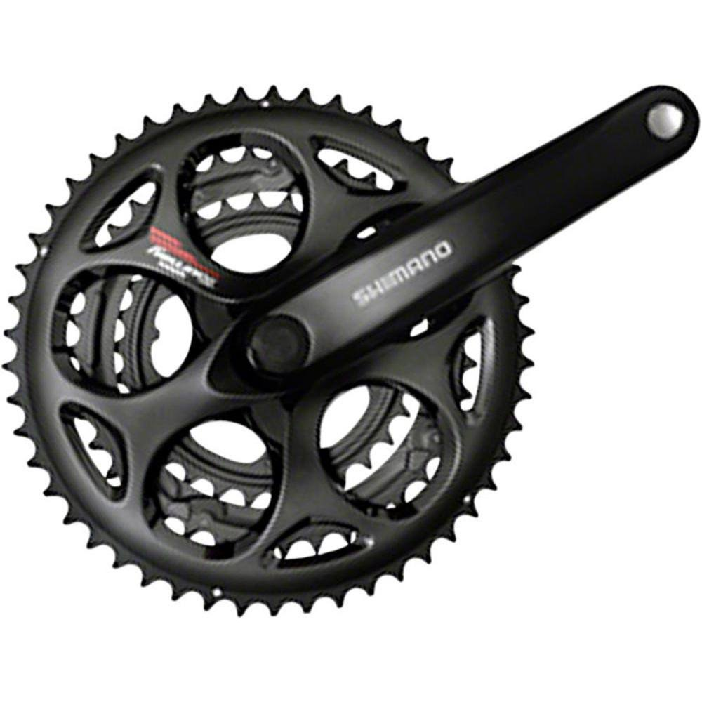 Shimano Tourney Square Crankset - Black, 170mm, 30/39/50t