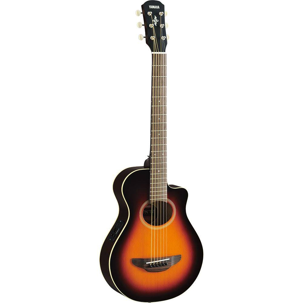 Yamaha APXT2 Thinline Acoustic Electric Cutaway Guitar - Sunburst, Size 3/4