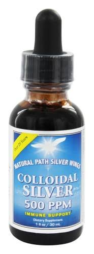 Natural Path Silver Wings Colloidal Silver Dietary Supplement - 30ml