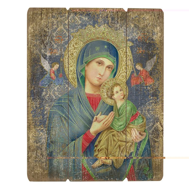 Gerffert B3124 Our Lady of Perpetual Help Pallet Sign