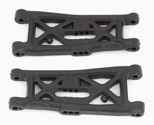 Associated 91673 B6 Gull Wing Front Arms - Black