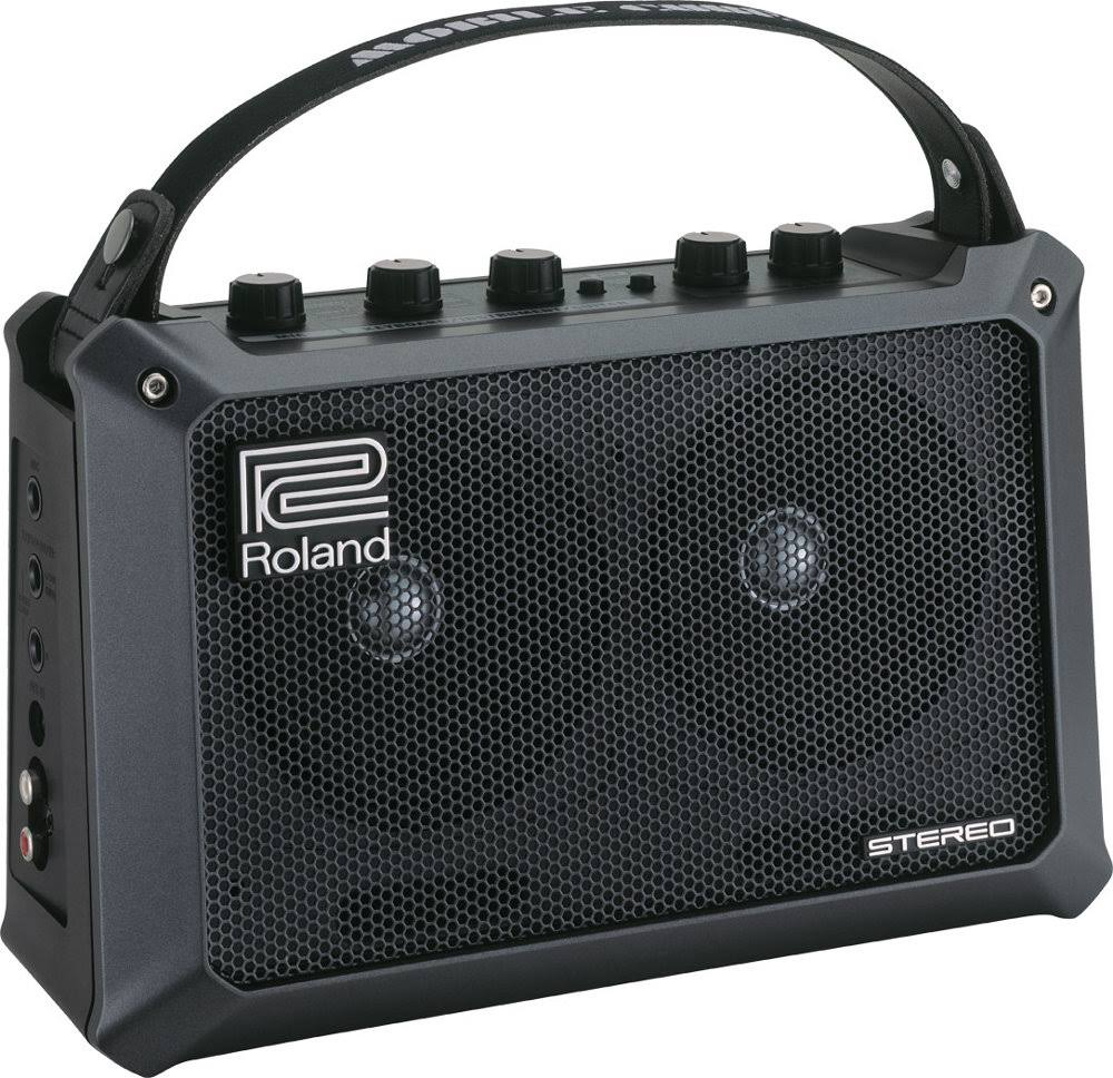 Roland Mobile Cube Battery-Powered Stereo Guitar Combo Amp - Black