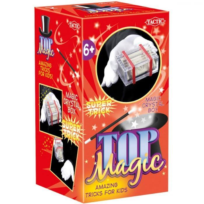 Tactic Top Magic Tricks - Crystal Box