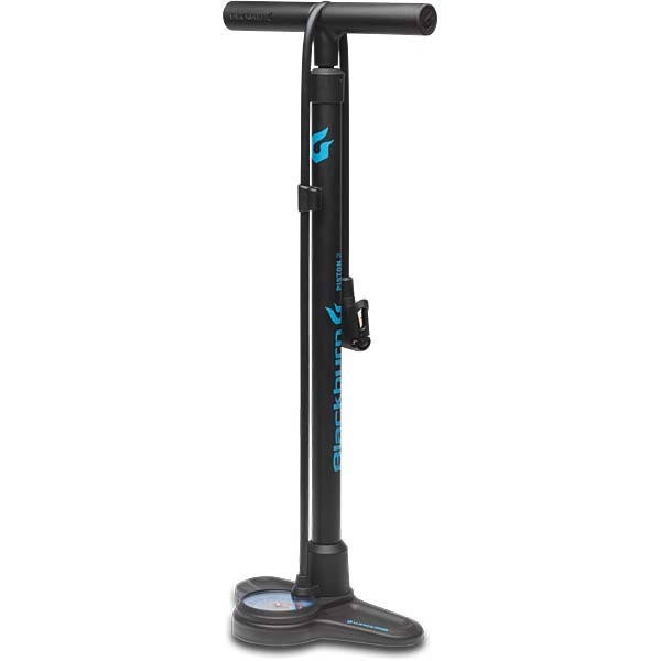 Blackburn Piston 2 Floor Pump - Matt Black, One Size