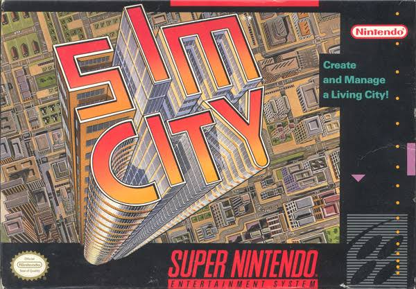 SIM City - Super Nintendo