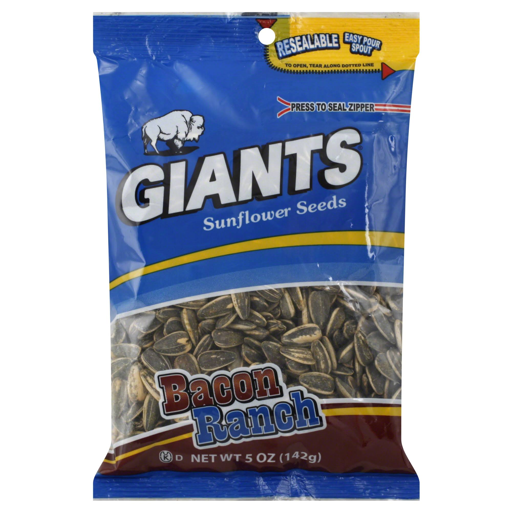 Giants Sunflower Seeds - 5oz, Bacon Ranch