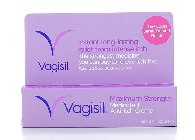 Vagisil Maximum Strength Anti-Itch Creme - 1oz