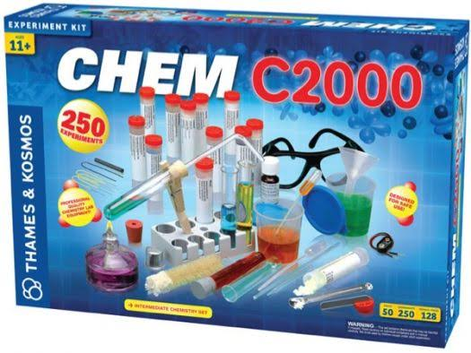 Thames and Kosmos Chemistry Experiment Kit