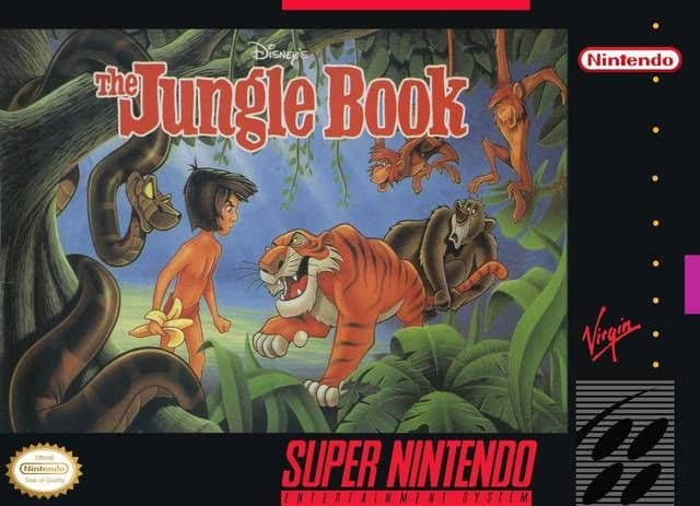 Disney's The Jungle Book [Super Nintendo, 1994]
