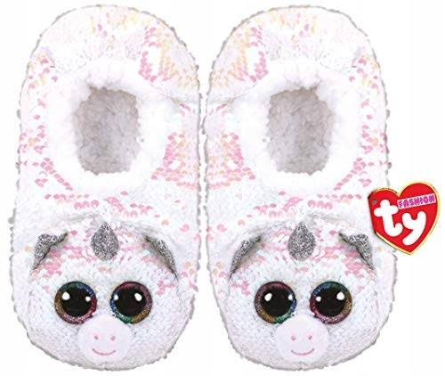 Ty Fashion Sequin Slipper Socks Diamond Small (11-13)