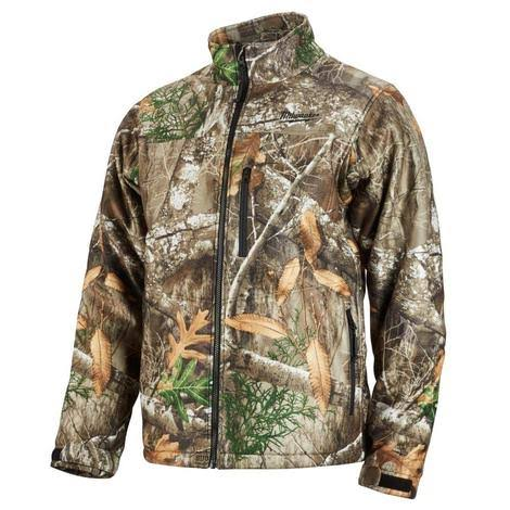 Milwaukee Mens M12 Cordless Heated Jacket Kit - Realtree Xtra Camo, Large