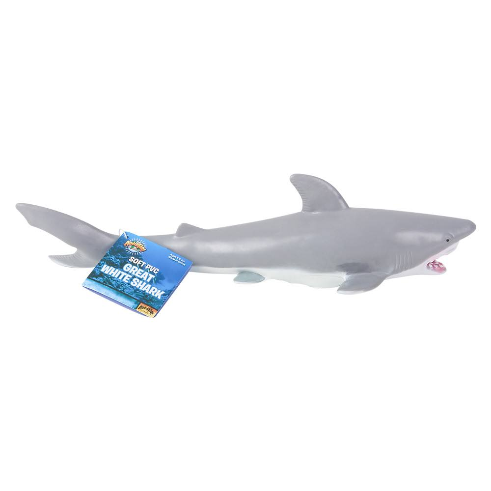 Happy Deals Soft Filled Great White Shark, 11""