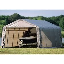 12x20 Storage Shed Kits by Amazon Com Shelterlogic 12 X 20 X 8 Ft Instant Garage Heavy Duty