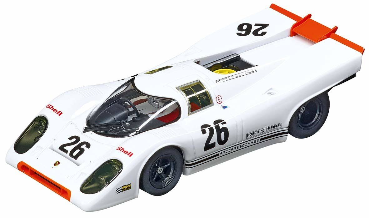 Carrera 27606 Porsche 917K #26 Evolution Analog Slot Car Racing Vehicle 1:32 Scale