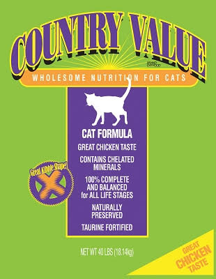 Country Value Adult Cat (40lb)