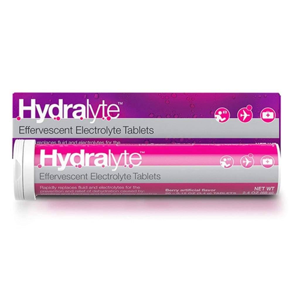 Hydralyte Effervescent Tablets - Berry, 20ct