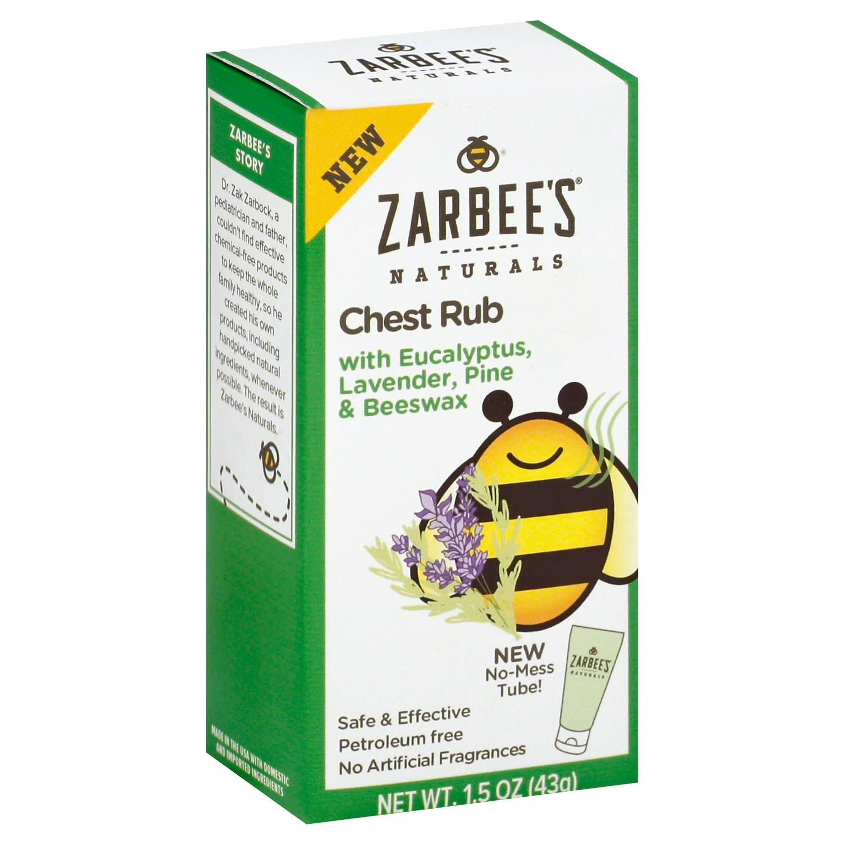 Zarbee's Naturals Chest Rub - 1.5oz