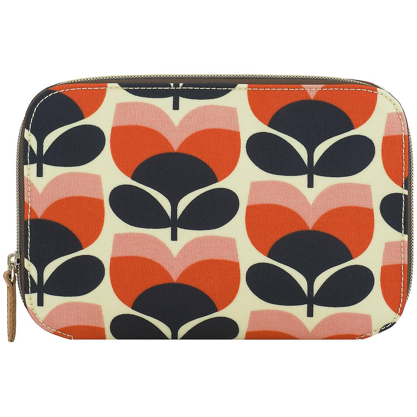 Orla Kiely Cosmetic Brush Case - Flower Stripe