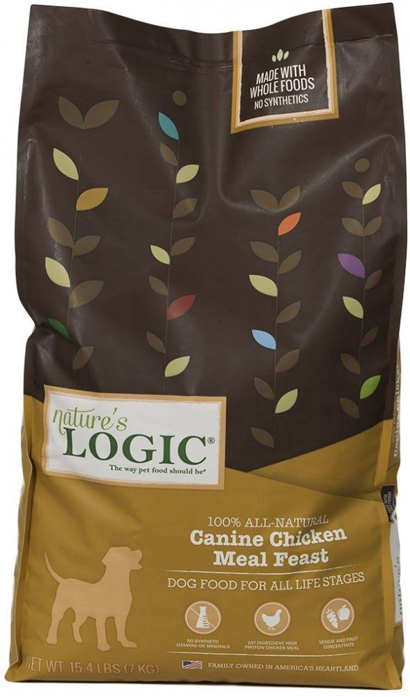 Nature's Logic Canine Chicken Meal Feast Dry Dog Food - 26.4 lbs.